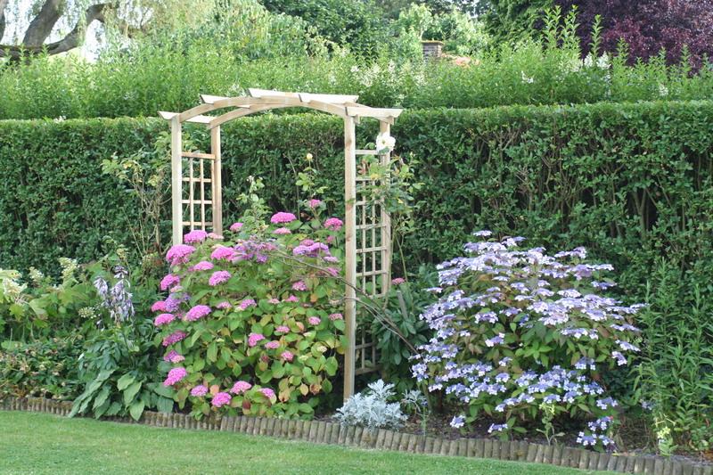 Gallerie au jardin