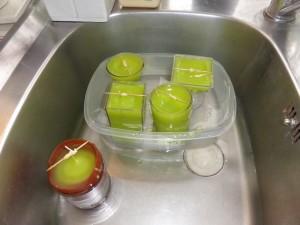 recyclage bougie