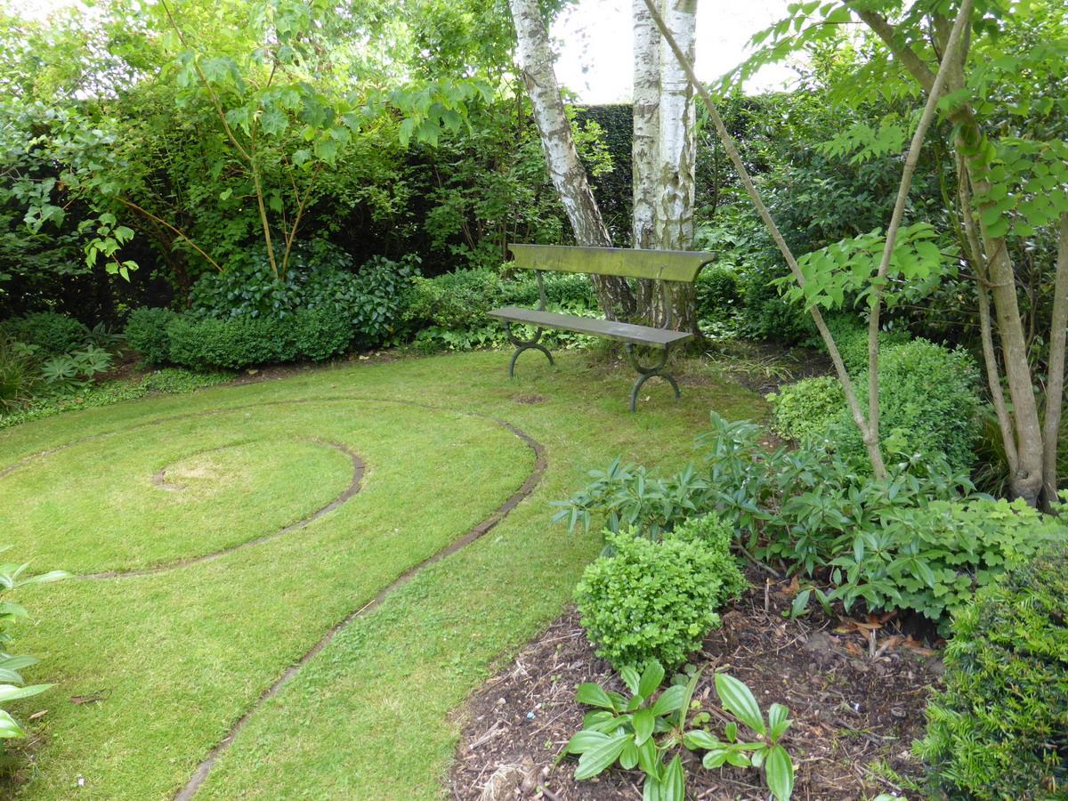 le jardin vert